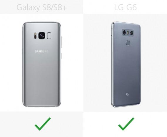 Samsung Galaxy S8 ve S8 + ile LG G6 karşılaştırma - Page 2