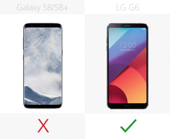 Samsung Galaxy S8 ve S8 + ile LG G6 karşılaştırma - Page 3