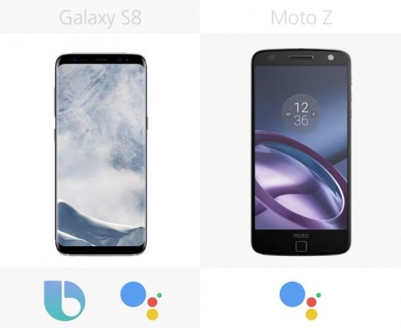 Samsung Galaxy S8 ve S8 + ile Moto Z karşılaştırma - Page 3