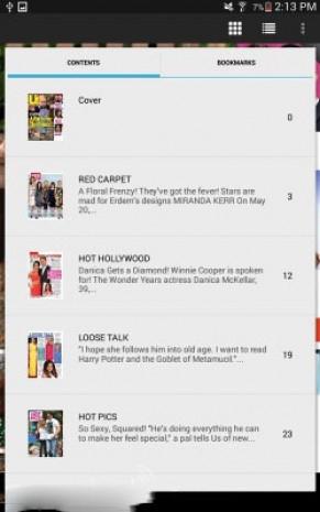 Samsung Galaxy Tab 4 Nook ekran görüntüleri - Page 4