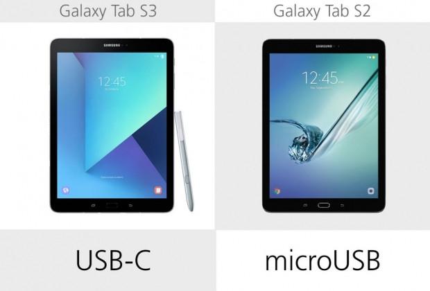 Samsung Galaxy Tab S3 ve Galaxy Tab S2 karşılaştırma - Page 1