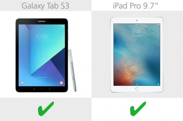 Samsung Galaxy Tab S3 ve iPad Pro 9.7 karşılaştırma - Page 2