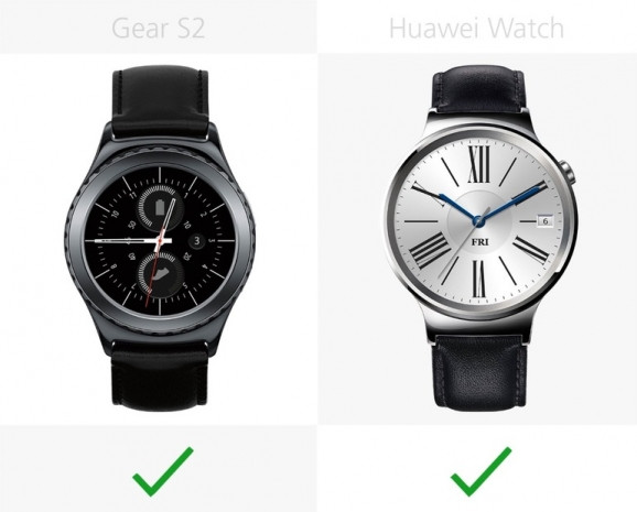 Samsung Gear S2 ve Huawei Watch inceleme - Page 1