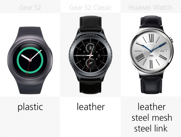Samsung Gear S2 ve Huawei Watch inceleme - Page 2