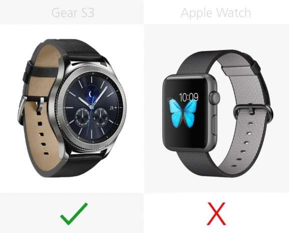 Samsung Gear S3 ve Apple Watch karşılaştırma - Page 1