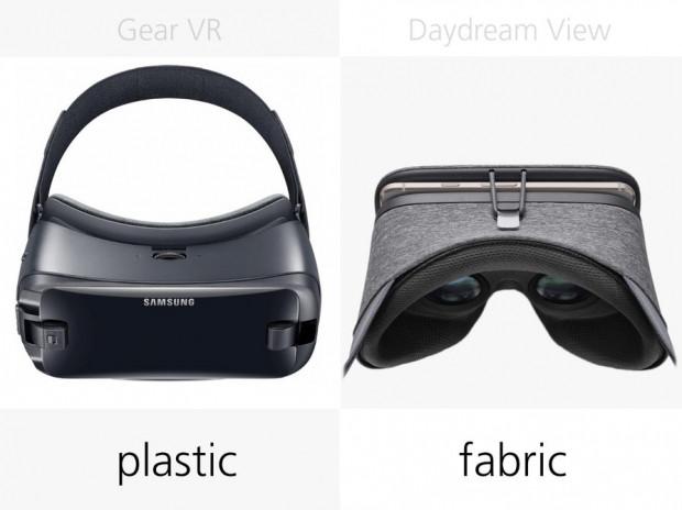 Samsung Gear VR (2017) ile Google Daydream View karşılaştırma - Page 1