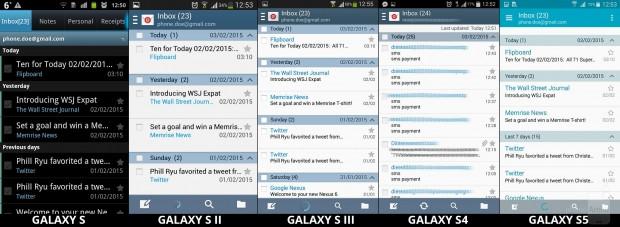 Samsung'un TouchWiz arayüz evrimi - Page 3