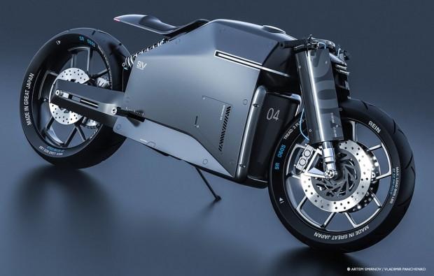 Samurai motosiklet konsepti - Page 4