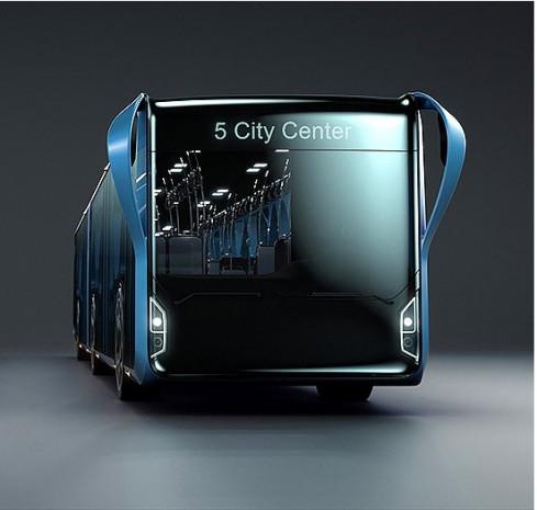 Şeffaf LCD yüzeyli şehir otobüsü - Page 4