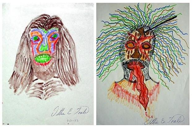 Seri katiller tarafından çizilmiş, bir ressamı aratmayan 15 tablo - Page 2