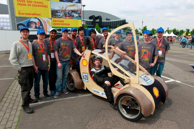 Shell, Eco Marathon'da en az yakan aracı seçiyor - Page 2