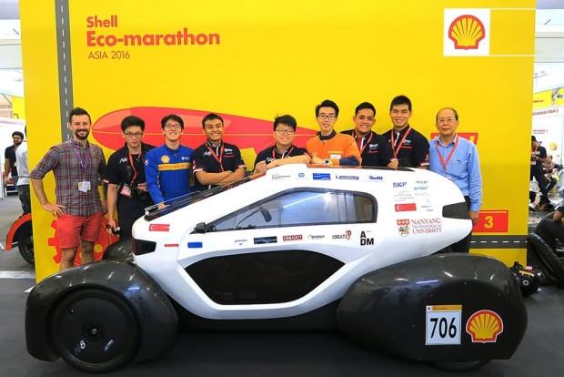 Shell, Eco Marathon'da en az yakan aracı seçiyor - Page 3