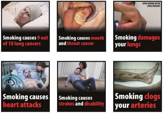 Sigara paketlerindeki fotoğraflar değişiyor - Page 1