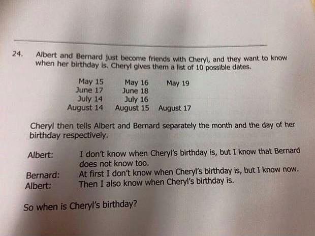 Singapur'da 14 yaşındaki öğrencilere sorulan  beyin yakan matematik sorusu! - Page 2