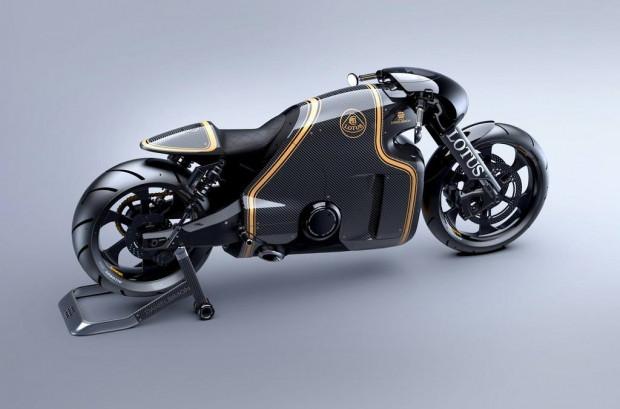 Sınırları zorlayan motosiklet C-01 Lotus Motorcycle. - Page 1