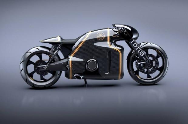 Sınırları zorlayan motosiklet C-01 Lotus Motorcycle. - Page 2