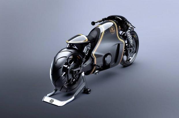 Sınırları zorlayan motosiklet C-01 Lotus Motorcycle. - Page 4
