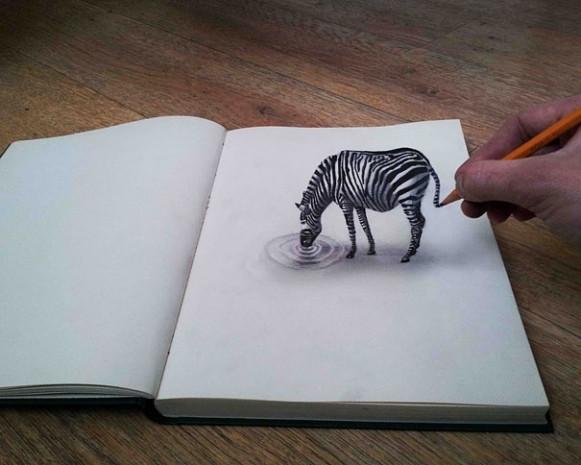 Sıra dışı gerçekçi 3 boyutlu çizimler! - Page 2