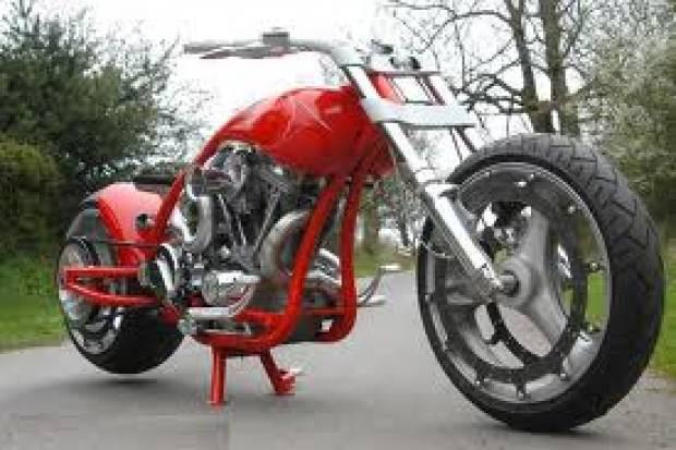 Sıra dışı motorsiklet modifiyeleri - Page 1