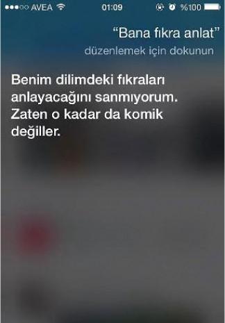 Siri'nin Türklerle imtihanı! - Page 1