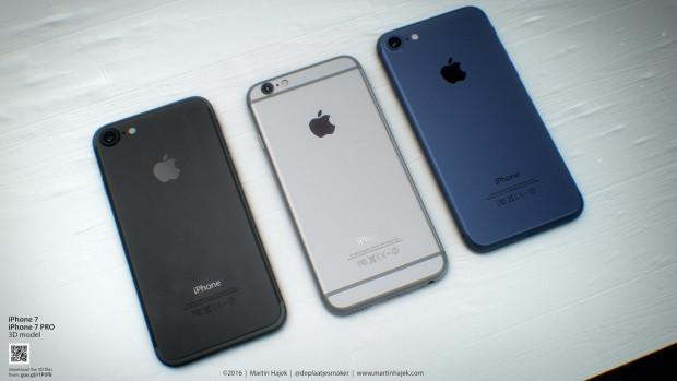 Siyah gümüş ve mavi iPhone 7 karşınızda - Page 1