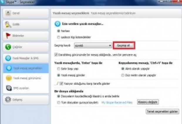 Skype'in geçmiş kaydı nasıl silinir? - Page 3