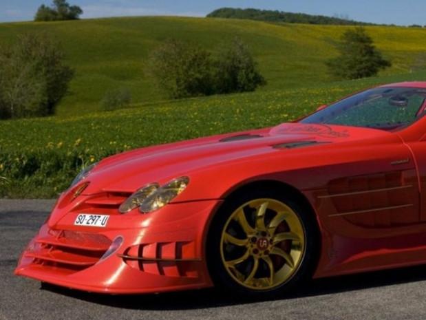SLR McLaren kırmızı altın rüyası - Page 1