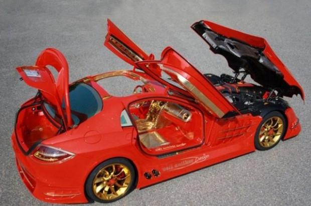 SLR McLaren kırmızı altın rüyası - Page 2