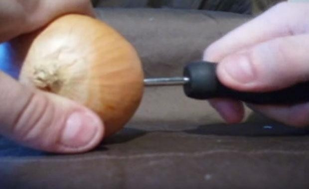 Soğanla şarj etti! - Page 1