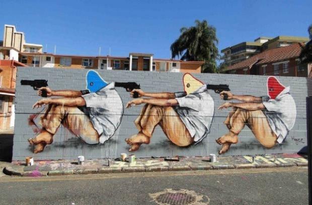 Sokak sanatı devleşti,işte en iyi örnekleri! - Page 1