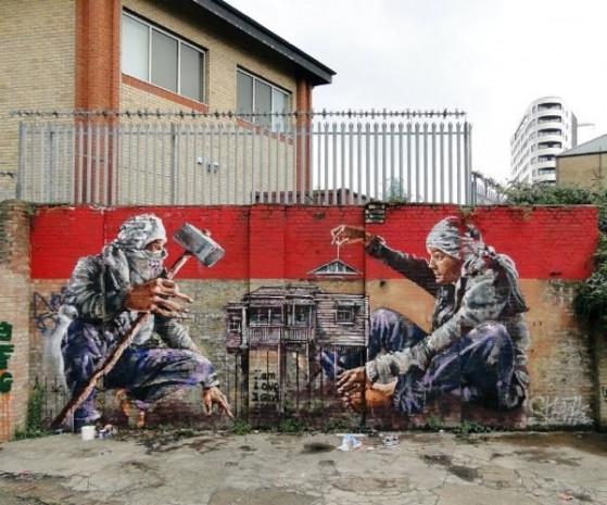 Sokak sanatı devleşti,işte en iyi örnekleri! - Page 2