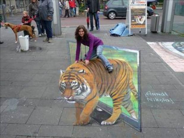 Sokaklara can veren 3D çizimler! - Page 1