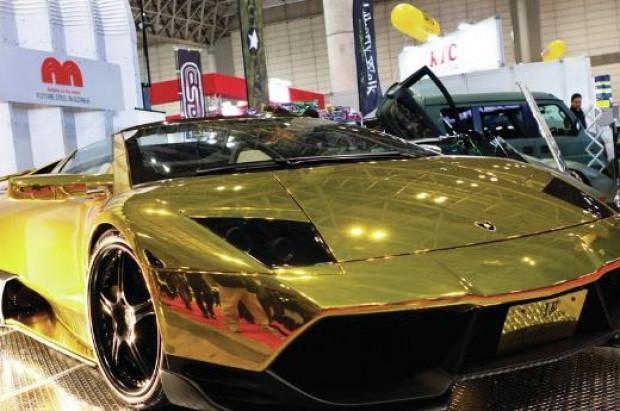 Som altından Lamborghini Avendator büyüledi - Page 1