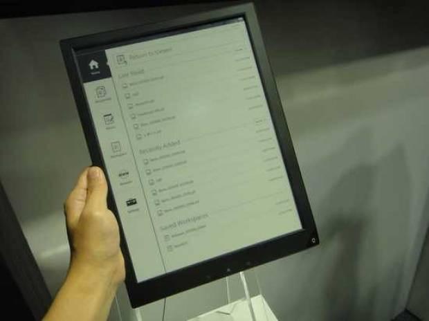 Sony, A4 boyutlu dijital kağıt geliştirdi - Page 4