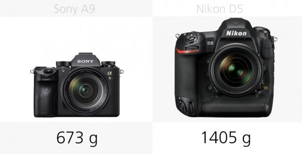 Sony A9 ve Nikon D5 kameraların temel özellikleri - Page 1