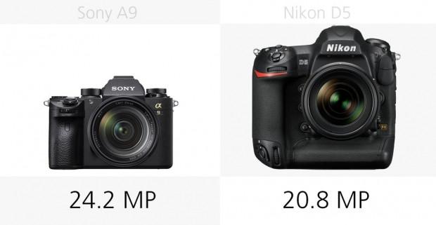 Sony A9 ve Nikon D5 kameraların temel özellikleri - Page 4