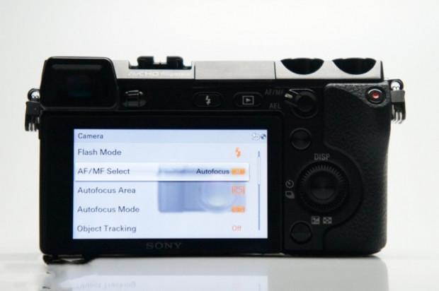 Sony NEX-7'nin kullanıcı arayüzü - Page 1