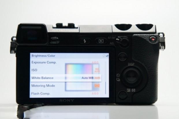 Sony NEX-7'nin kullanıcı arayüzü - Page 3