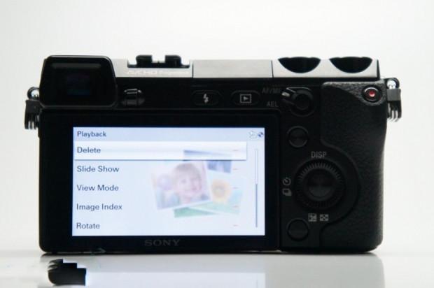 Sony NEX-7'nin kullanıcı arayüzü - Page 4