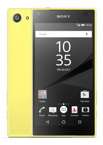 Sony Xperia Z5 Compact tüm yeni özellikler ve resmi görüntüler - Page 2