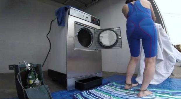 Sosyal medya 'Çamaşır makinesi adam' ile çalkalanıyor - Page 2
