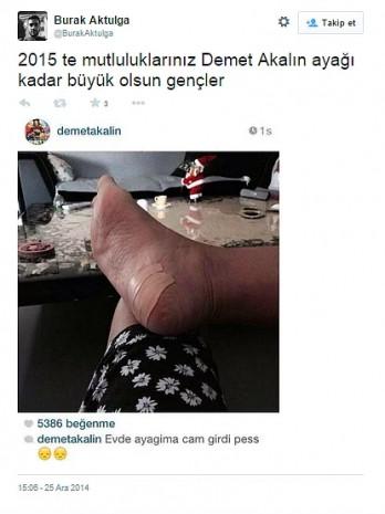 Sosyal medyada Demet Akalın'ın ayağına yapılan en komik 19 yorum - Page 2