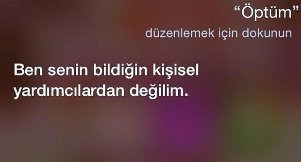 Sosyal medyada Türkçe Siri geyiği - Page 2