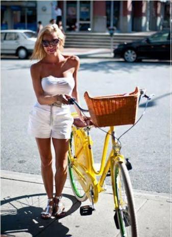 Sosyal medyada yeni trend 'bisikletli poz' - Page 3