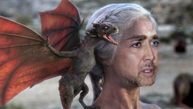Sosyal medyanın yeni çılgınlığı: Nicolas Cage Game of Thrones'ta - Page 1
