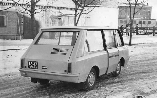 Sovyetler Birliği döneminden acayip araçlar - Page 2