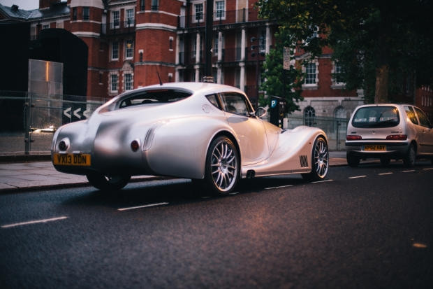 Steampunk: Morgan Aero Coupe - Page 1