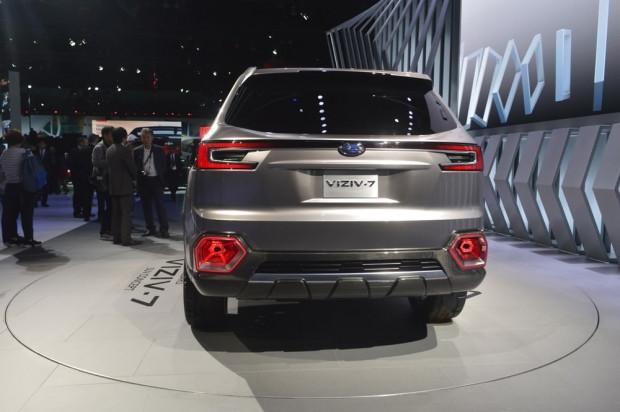 Subaru'nun 7 koltuklu konsepti büyük ve cesur - Page 2