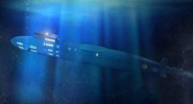 Süper lüks denizaltı-yat - Page 1
