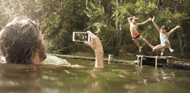 Suyun içinde fotoğraf çeken, Sony Xperia M4 Aqua - Page 1